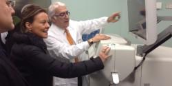 Il Ministro Lorenzin in visita all'ospedale di Chieti