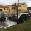 Pescara: danneggiati tre mezzi dell'Attiva
