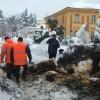 Chieti, emergenza continua con neve, fiumi d'acqua e terremoto