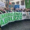 A Roma migliaia di abruzzesi per l'emergenza Abruzzo