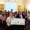 Premiazione dei vincitori del Corepla School Contest
