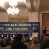 Nazario Pagano a Fiuggi parla del dilettantismo pericoloso del M5S