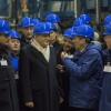 Il Presidente Sergio Mattarella in visita ai laboratori del Gran Sasso