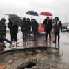 Pescara: sopralluogo per i lavori al Fosso Bardet 2