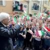 Casoli, festa della Liberazione con il Presidente della Repubblica Mattarella