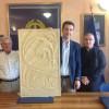 Donata al Comune di Montesilvano scultura di San Michele