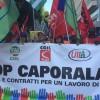 Delegazione Cisl Abruzzo Molise alla manifestazione nazionale contro il caporalato