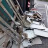Montesilvano, rifiuti abbandonati su via Emilia