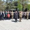L'Aquila: cerimonia del 25 aprile alla Villa Comunale