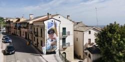 Casalanguida, un murales dedicato alla tradizione bandistica