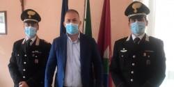 Montesilvano, il sindaco De Martinis incontra il nuovo comandante dei CC