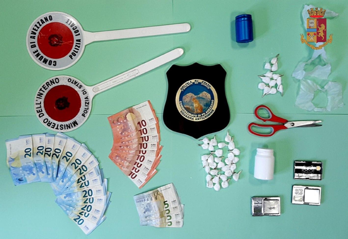 Avezzano: arrestati due marocchini per spaccio di droga