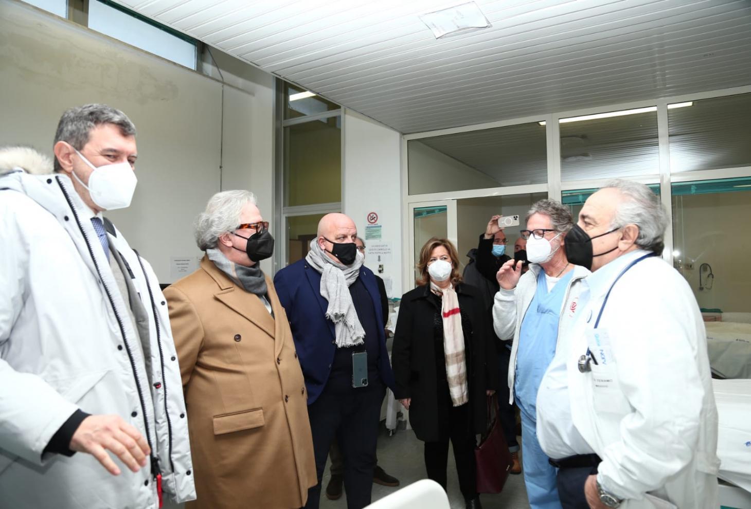 Teramo: inaugurati nuovi posti letto in ospedale