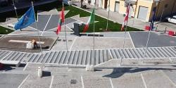 Ortona: inaugurata la piazza dedicata agli eroi Canadesi