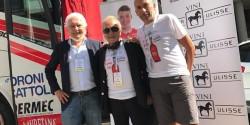 Tenuta Ulisse al Giro d'Italia con Androni Giocattoli Sidermec