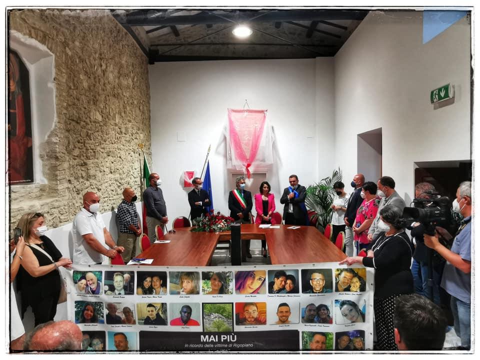 Archi, la nuova Sala Comunale dedicata alle vittime di Rigopiano